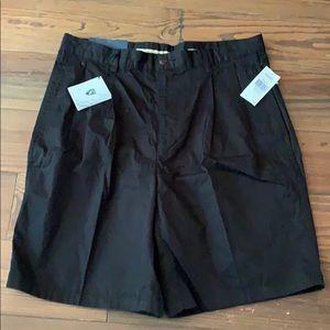 New black Nautical golf shorts 34